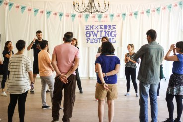 Classes at Enxebre Swing festival 2017